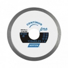 "-Disco diamantado Continuo 4.1/2"" Norton Pro"