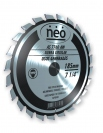 "Disco Neo Corte Aluminio 10""-255mm. 80 dientes AS7080TW"