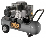 -Compresor Industrial Neo 4hp 2Cilindros 100lts CE810