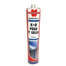 Sellador Poliuretánico K+D Gris 310ml. Wurth